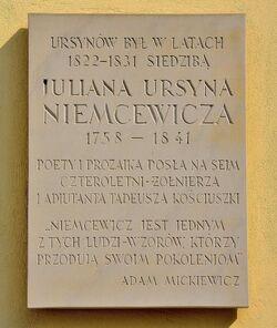 Tablica Pałac Ursynów.JPG