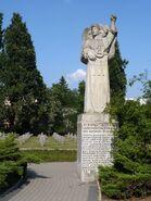 Pomnik rozstrzelanych w Wawrze monument prawy