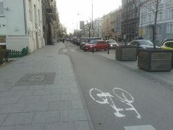Sciezka rowerowa Aleje Ujazdowskie (by BartekBD).jpg