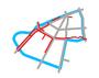 Schemat ścieżek rowerowych na Ochocie