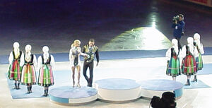 Wreczenie medali ME 2007