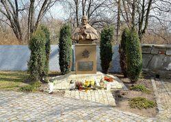 Pomnik Jana Pawła II kościół św. Katarzyny.JPG