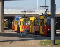 Żerań FSO (przystanek, tramwaj 18).JPG