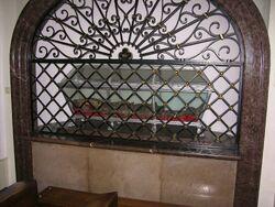 Relikwie św. Witalisa w kościele św. Franiszka Serafickiego.JPG