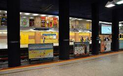 Peron stacji metra Centrum.JPG