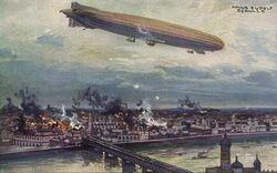 Niemcy bombardują Warszawę 1914.JPG