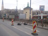 Metro Ratusz Arsenał (przystanek, marzec 2009)