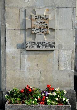 Tablica Tchorka Marszałkowska 136.JPG