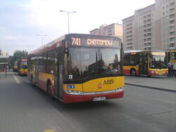 741 na pętli Nowodwory by Kubar906