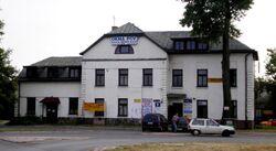 Stacja kolei jablonowskiej Widoczna