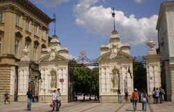 Brama Uniwersytetu Warszawskiego.JPG