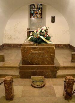 Krypta Henryka Sienkiewicza Katedra św. jana.JPG