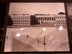 Pałac Saski Warszawa w budowie