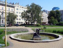 Dabrowskiego plac fontanna