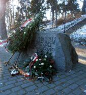 Park Żeromskiego (kamień pamiątkowy 2)