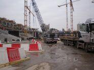 Stadion Narodowy (budowa murawy)