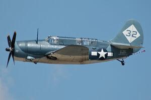 Curtiss SB2C Helldiver CAF