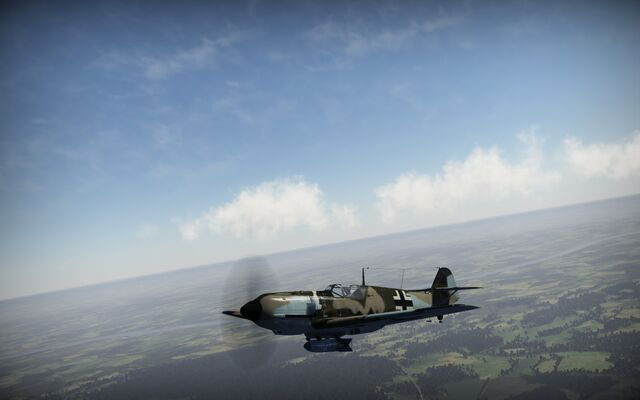 File:Bf.109E3 in flight.jpg