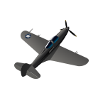 File:5 - P-39N-0 Airacobra.png
