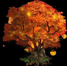 Golden World Tree