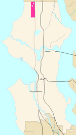 Seattle Map - Bitter Lake