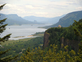 Vista House @ Crown Point, Columbia River Gorge, OR