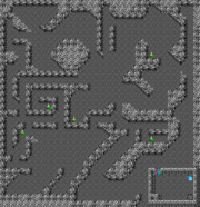 Mineshaft map