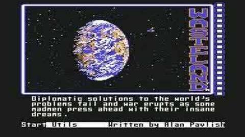 Wasteland C64 Intro