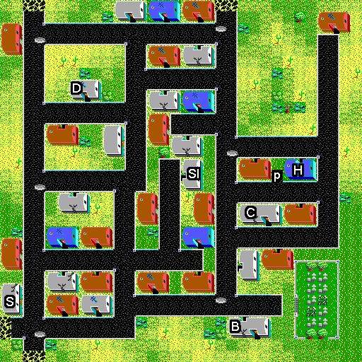Quartz map tactical
