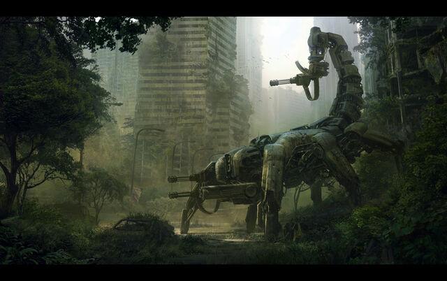 File:Wasteland2 Scorpitron concept art.jpg