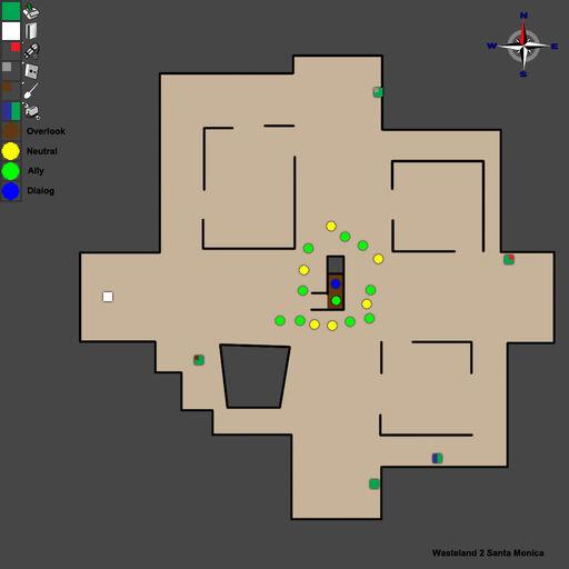 WL2 Santa Monica Map Walkthrough