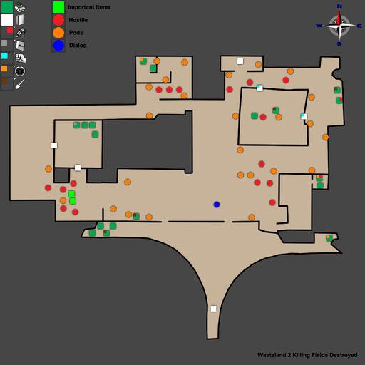WL2 Ag Center Killing Fields Destroyed Map Walkthrough
