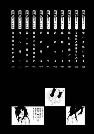 WataMote Manga v07 contents