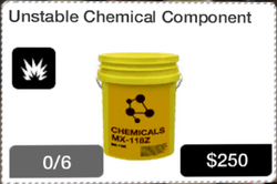 Unstable Chemical Component icon