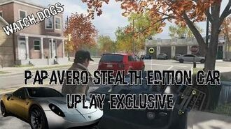 Watch Dogs - Papavero Stealth Edition Car (Uplay Exclusive)