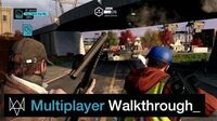 Watch Dogs - 8 Minute Multiplayer Walkthrough