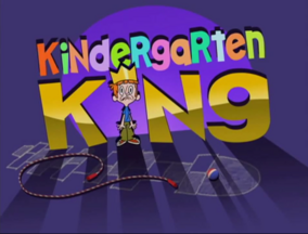 Kindergarten King Title Card