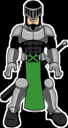 Knight Cyril - sticker