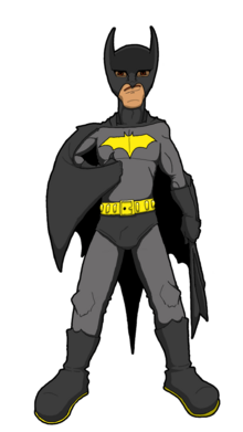 Post-War Bat Tommy - sticker