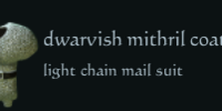 Dwarvish mithril coat