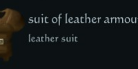 Suit of leather armour