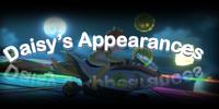 Daisy's Appearances