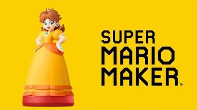 The Princess Daisy amiibo in Mario Maker (Custom Patch)-0