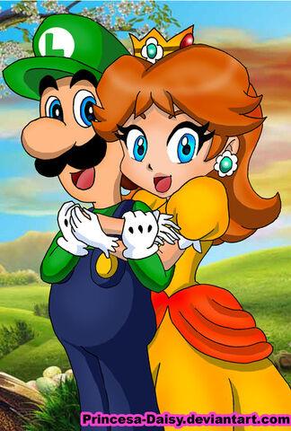 File:Luigi and daisy happy couple by princesa daisy-d3l81z0.jpg