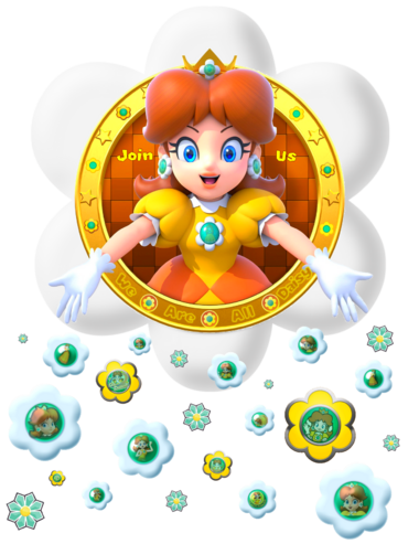 Logo We Are Daisy 6 transparence