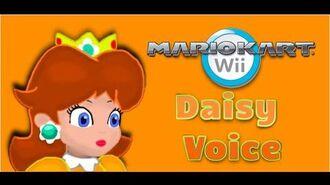 Mario Kart Wii -Daisy- Voice