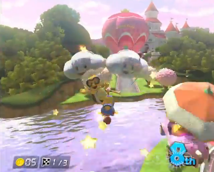 File:Daisy's Peach Parasol Mario Kart 8.png