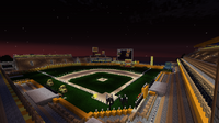 Field at night