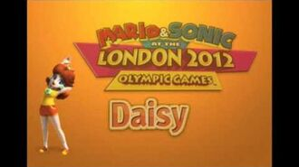Mario & Sonic Olympic Games 2012 Wii -Daisy- Voice
