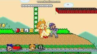 SSF2 Mod Battle SMG4 (over Mario) vs Daisy (over Peach)-0